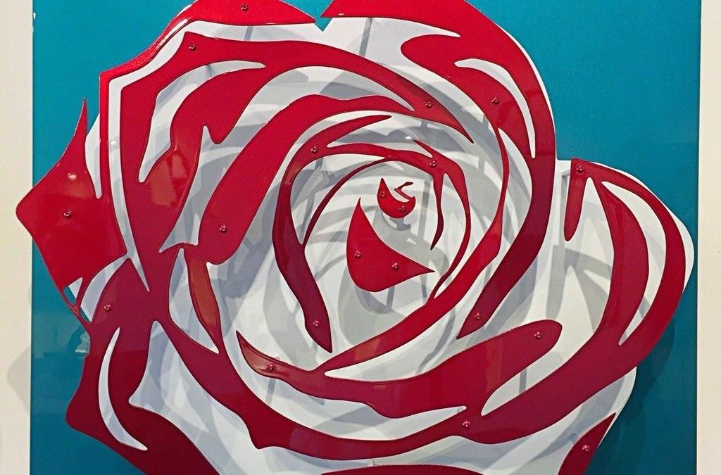Candy Chrome Rose V