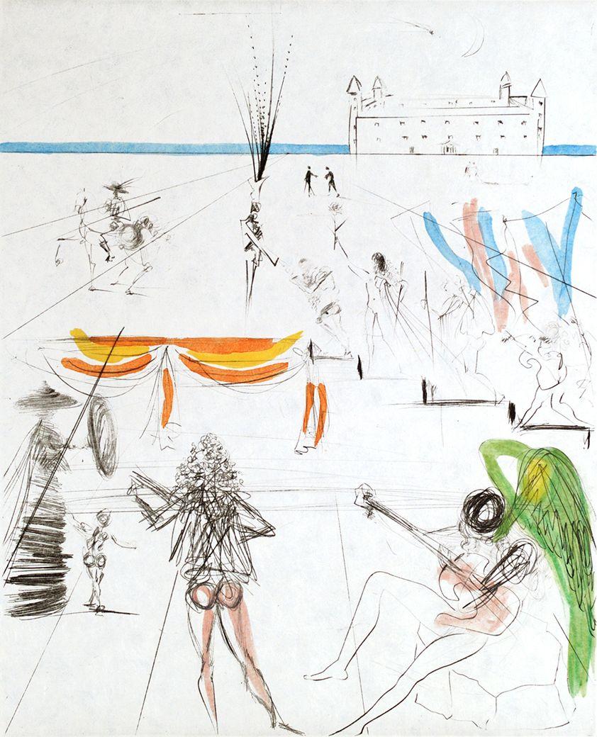 Salvador Dali - Santiago De Compostella - Off The Wall Gallery