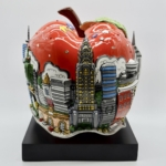 Charles Fazzino - Pop Goes The Red Apple - Off The Wall Gallery