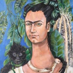 Autorretrato como Frida