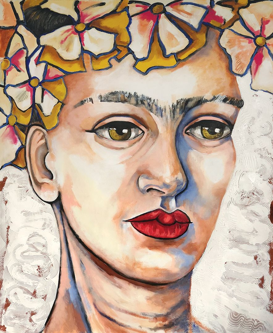 Lowenberg - Frida con petunias