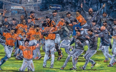Astros Art Celebration feature on ESPN.com