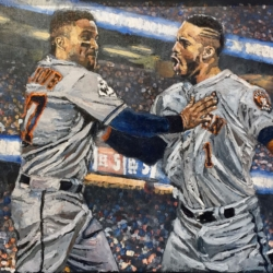 Correa and Altuve Back To Back, World Series Game 2