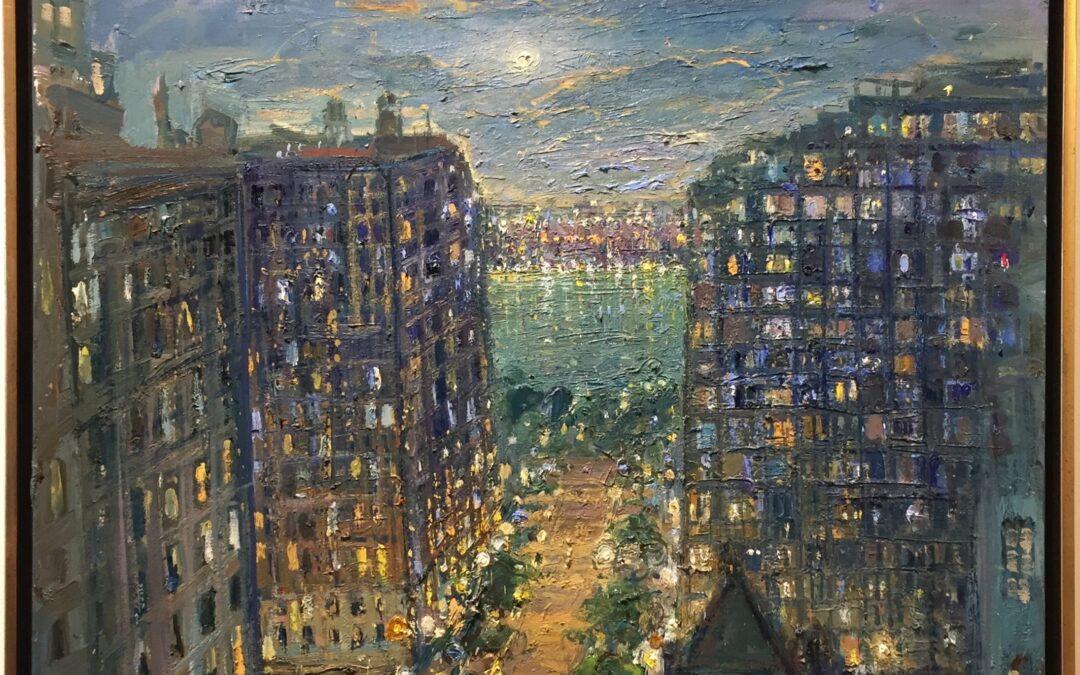 73rd Street, View to Hudson River
