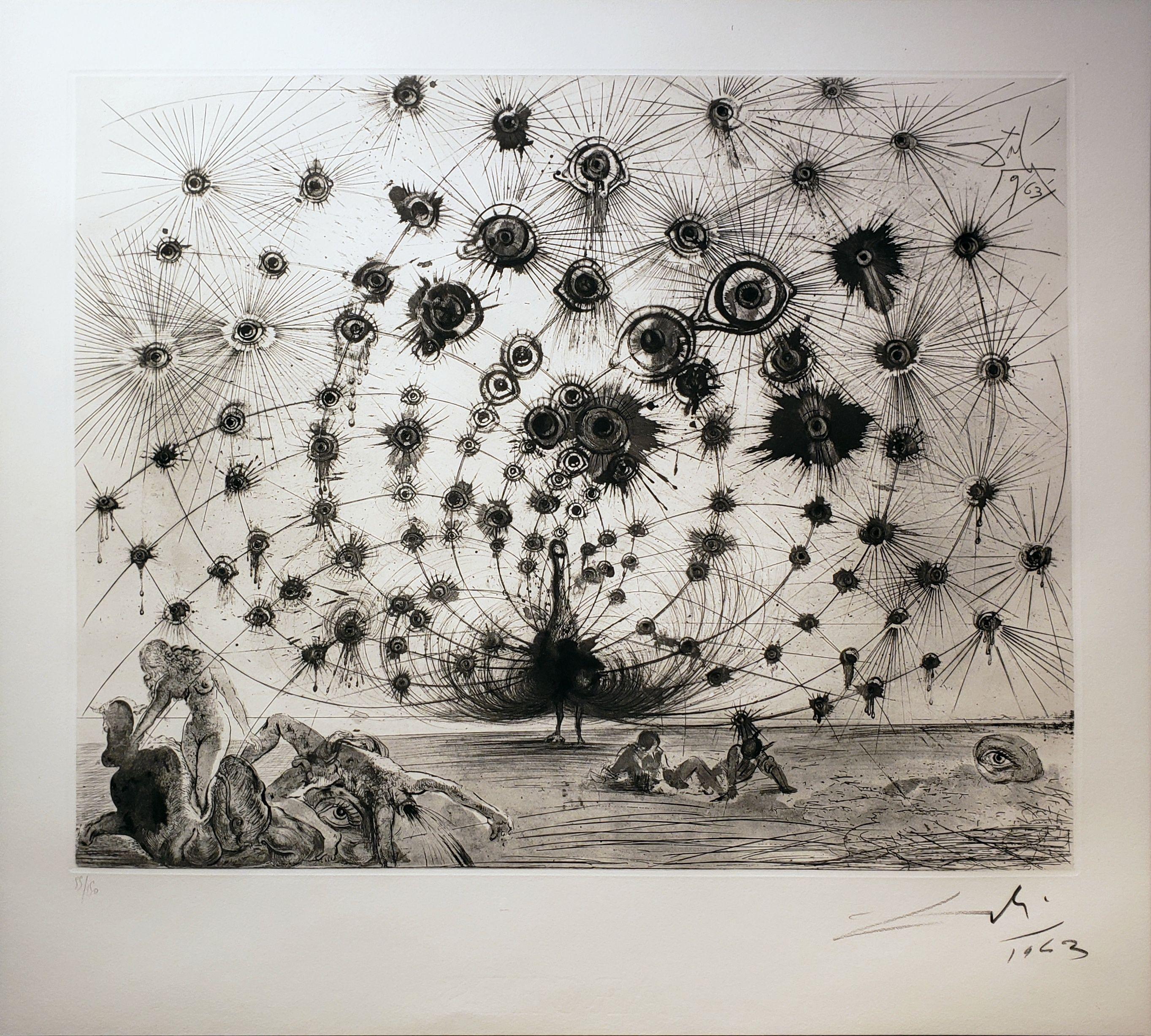 Salvador Dali - Mythologie Argus - Off The Wall Gallery