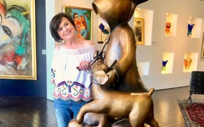 Art Houston interviews Mimi Sperber