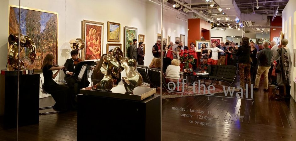 Ruby Slippers Art Soirée – Off The Wall's 40th Anniversary Party!
