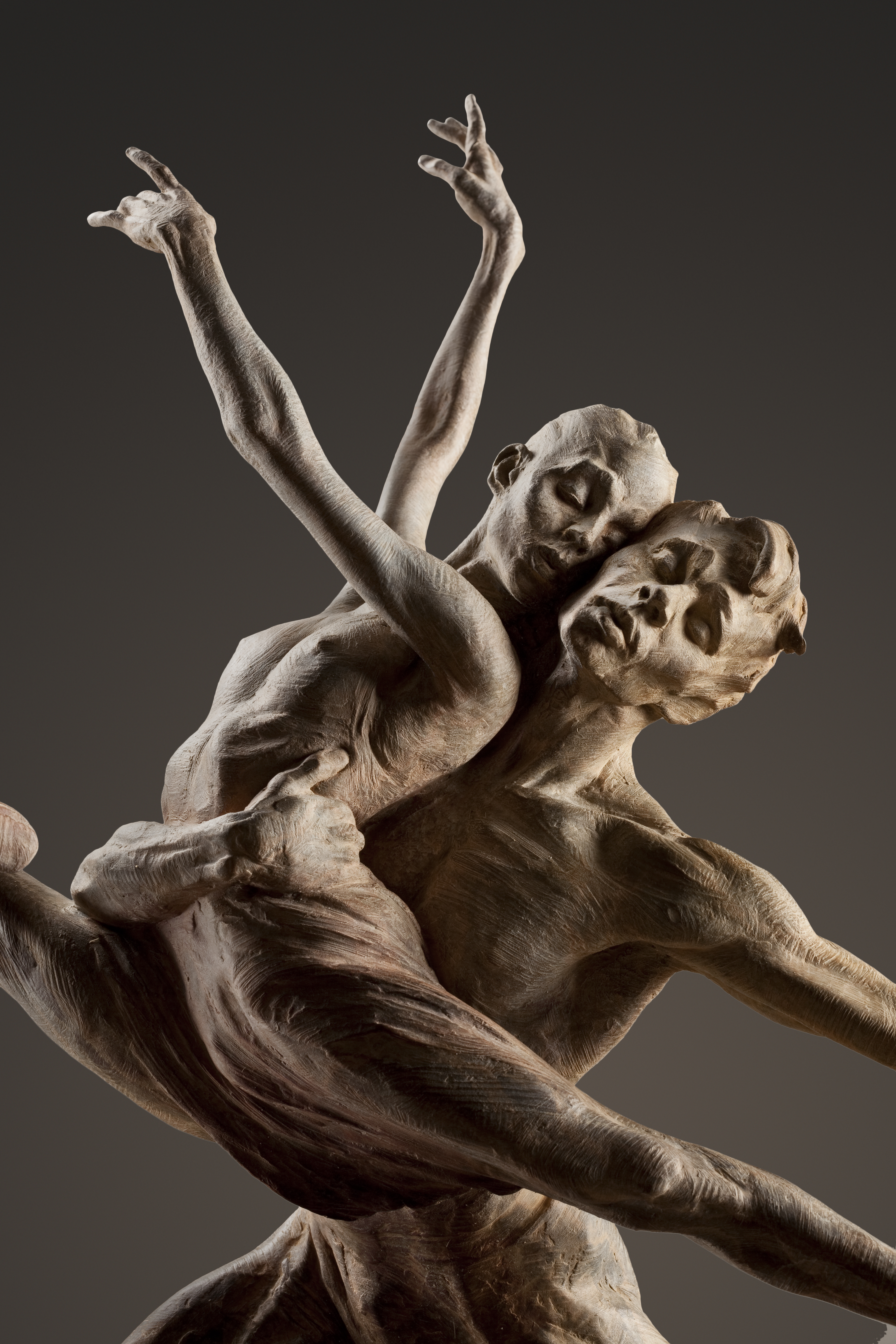 Richard MacDonald Thiago and Marianella in Rehearsal - Off The Wall Gallery Houston