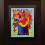 Peter Max - Abstract Flowers - Off The Wall Gallery Houston