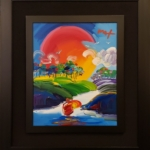 Peter Max - Without Borders - Off The Wall Gallery