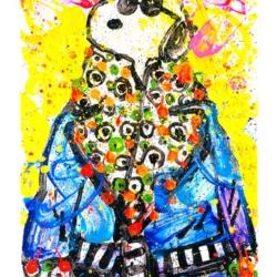 Snoop Dog Wearing Jim Dine – Woodstock