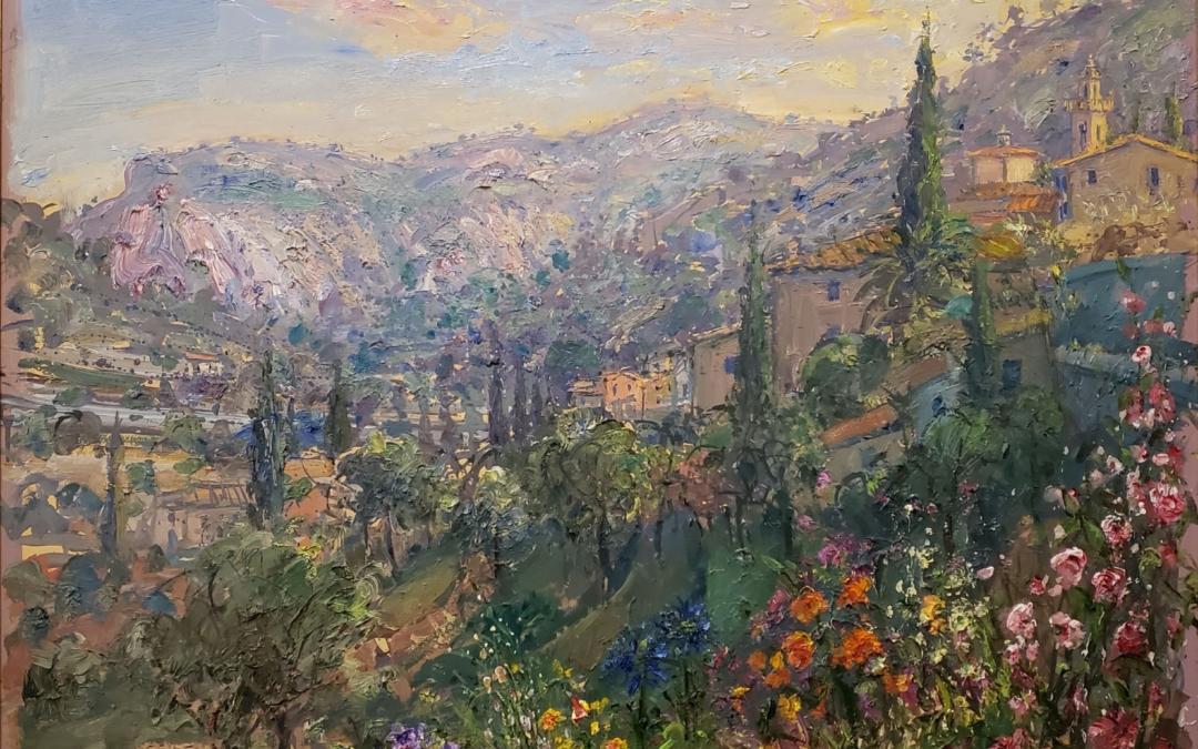 View Across The Mountains, Valldemosa