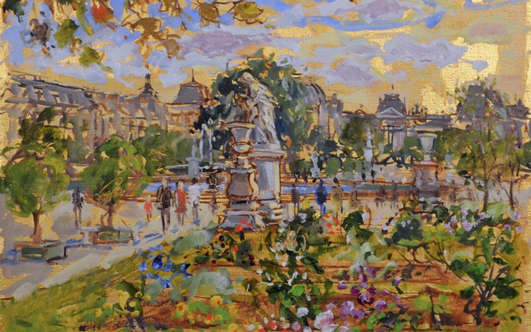 Tuileries, July Afternoon