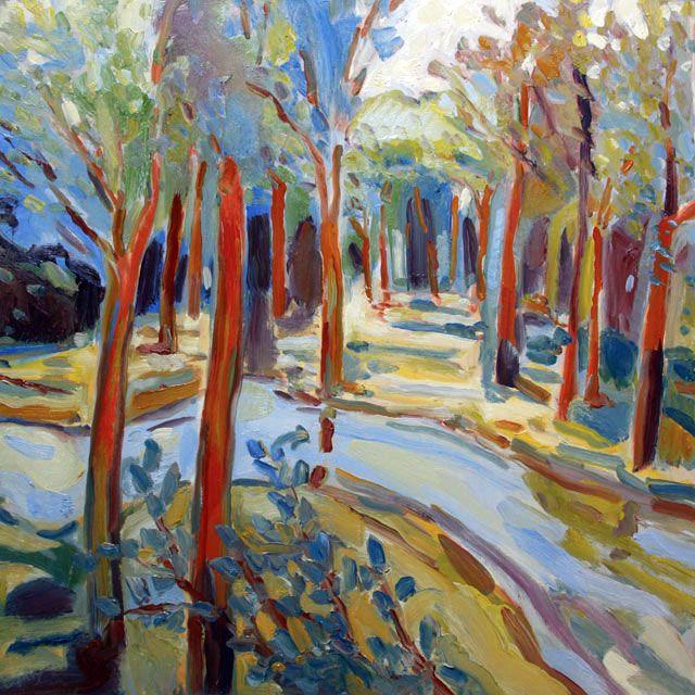 Trees With Stream VII