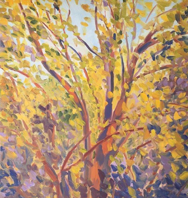 Sunlit Leaves VI