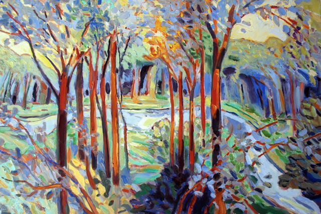 Trees With Stream IV