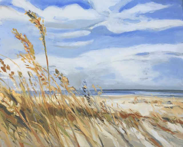 Wild Gulf Coast Grasses VIII