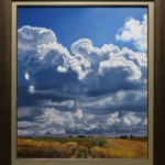 Jose Antonio Fuentes - Open Country, 2019; Painting; Original oil on canvas; Signed; Contemporary Art; Landscape; Off The Wall Gallery Houston